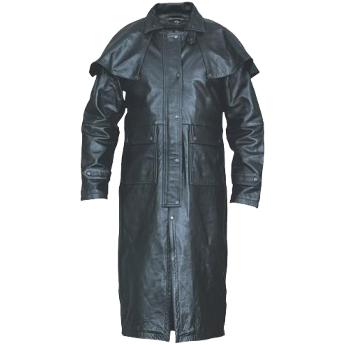 Men's Buffalo Leather Duster