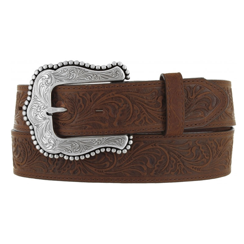 Tony Lama Ladies Brown Layla Western Belt
