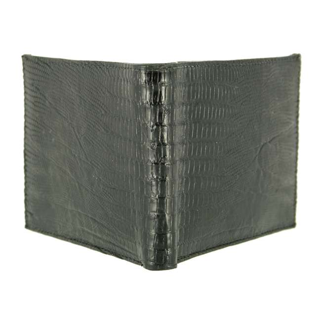 Bronco Black Lizard Wallet
