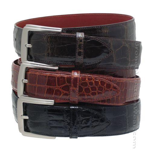 Hand Made Alligator Ranger Belt