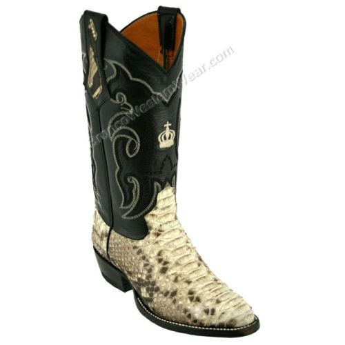 Snake Skin Cowboy Boots, Western Boots