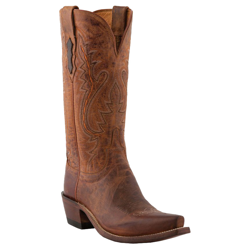 Lucchese Women's Peanut Brittle Snip Toe Western Boots