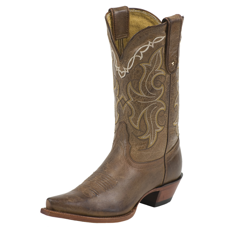 TONY LAMA WOMEN'S HONEY SAGUARO SNIP TOE BOOTS